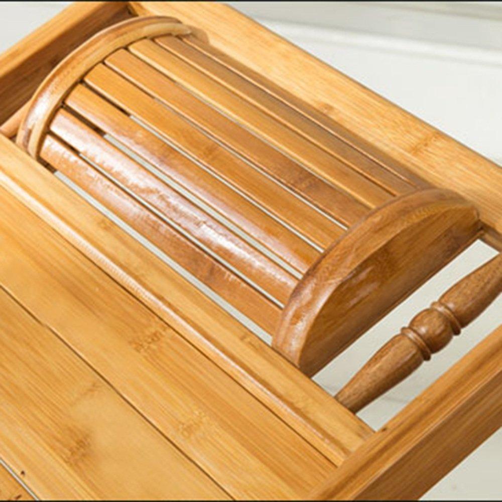 Poltrone LHA Sedia per Il Tempo Libero di piegamento della Sedia di Oscillazione di bamb/ù Pieghevole della Sedia di Svago