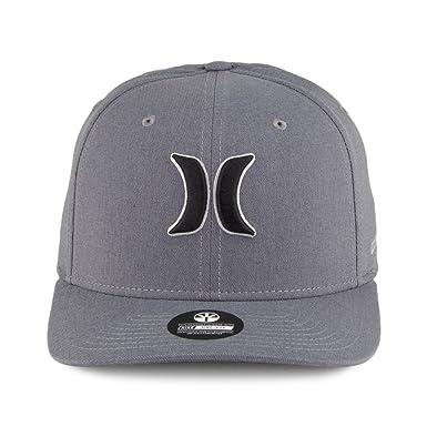 best service 8f2fd 71143 Hurley Hats Dri-Fit Heather Flexfit Baseball Cap - Charcoal Large X-Large   Amazon.co.uk  Clothing