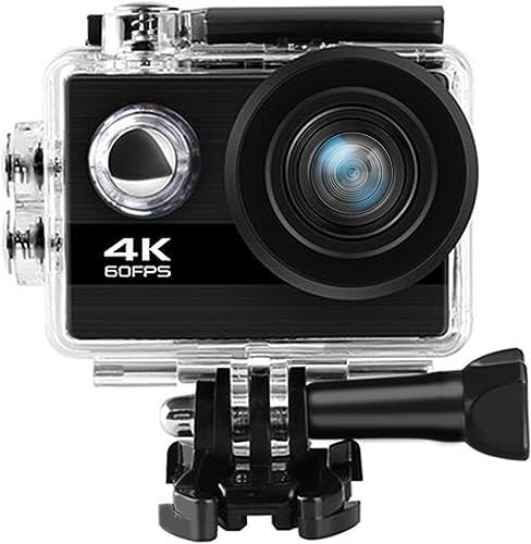 4K 60fps WiFi Action Camera 30m Waterproof Camera 8X Zoom Sports Camera with Helmet Accessories Kit. Sony Sensor