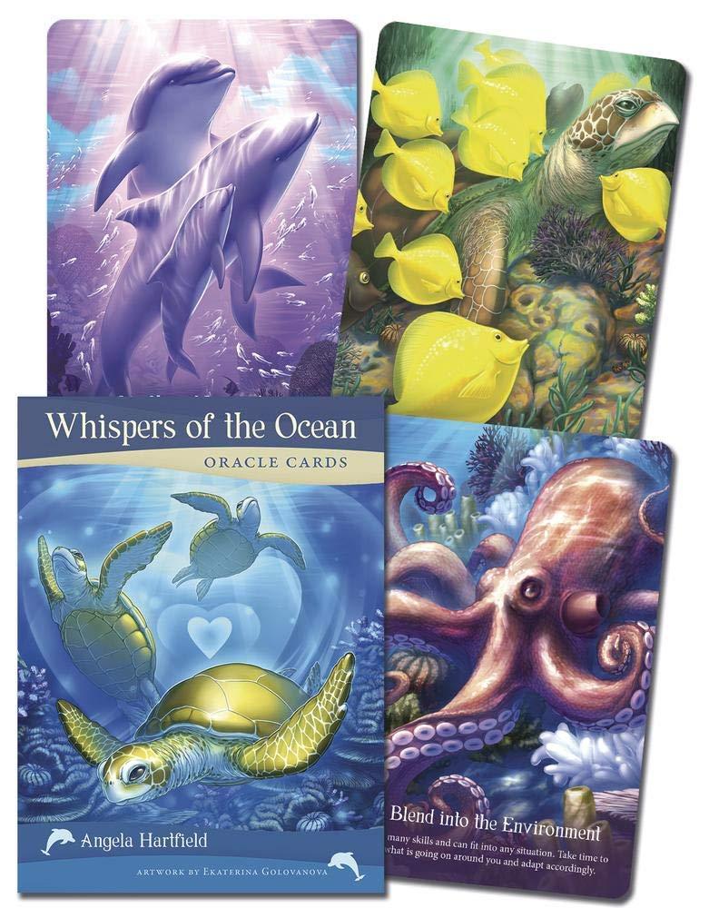 Whispers of the Ocean Oracle Cards: Amazon.es: Hartfield, Angela, Golovanova, Ekaterina: Libros en idiomas extranjeros