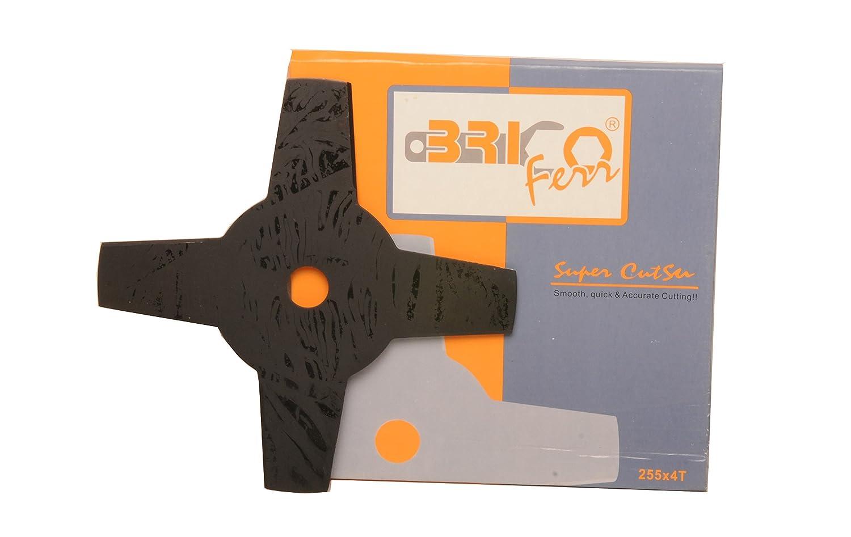 Bricoferr BF096 - Disco cuchilla de 4 puntas para ...