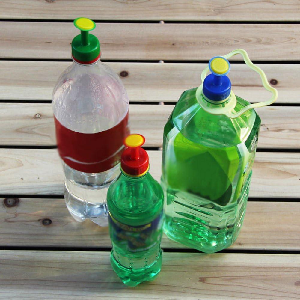 Farbe zuf/ällig Lumpur Bottle Top Waterers Sprinklerkopf f/ür Gie/ßkannenbew/ässerungsd/üse Bew/ässerungsaufs/ätze f/ür Wasserflaschen Perfekt f/ür T/öpfe und H/ängek/örbe