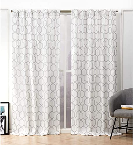 Nicole Miller Hexa Curtain Panel