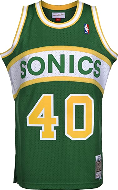 Amazon.com: Camiseta de baloncesto Mitchell & Ness Shawn ...