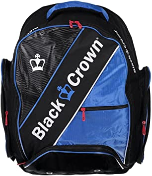Mochila padel Black Crown Sack (Azul): Amazon.es: Deportes y aire ...