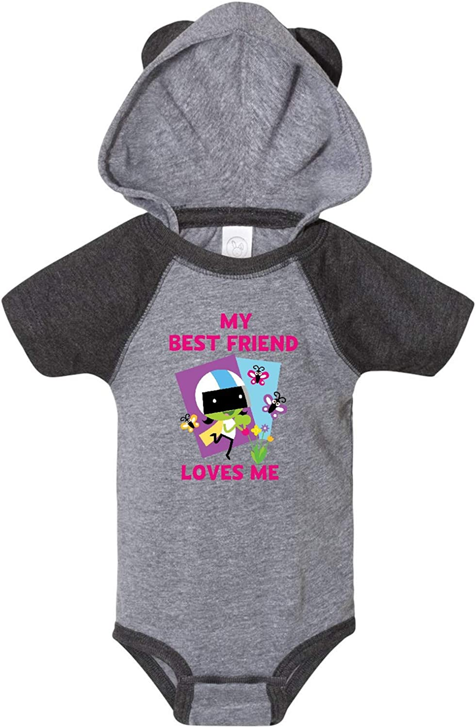 PBS Kids inktastic My Best Friend Loves Me with Dee Infant Creeper