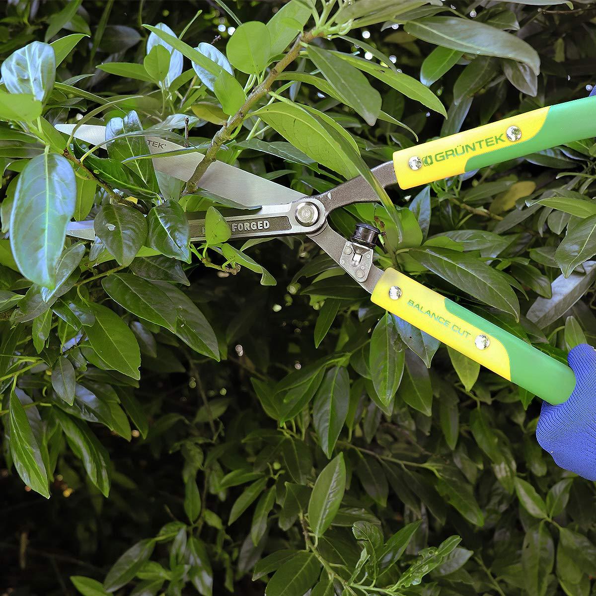 GRÜNTEK Tijeras cortasetos forjadas-Q 23/600 mm. Tijeras de jardín ...