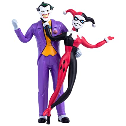 Amazon Com Nj Croce The Joker Harley Quinn Animated