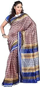 Shilp-Kala Art Silk Printed Multi Colored Sarees SKKCBS12815C