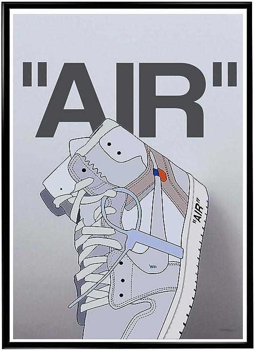 Off White Sneaker Fan Art Poster Hypebeast Poster Pop Culture Wall Art