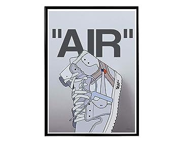 Off Blazer Graffiti Sneaker Poster Hypebeast Poster Modern Pop Art Kicks Poster