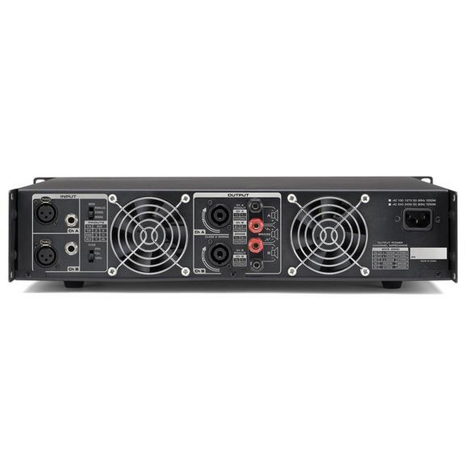 Samson MXS3000 | 3000 Watt Professional Power Amplifier by Samson (Image #2)
