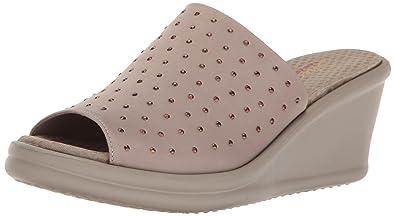 348206c33b37 Skechers Cali Women s Rumblers-Silky Smooth Slide Sandal