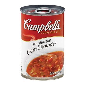 CAMPBELL'S 10.75oz Manhattan Clam Chowder