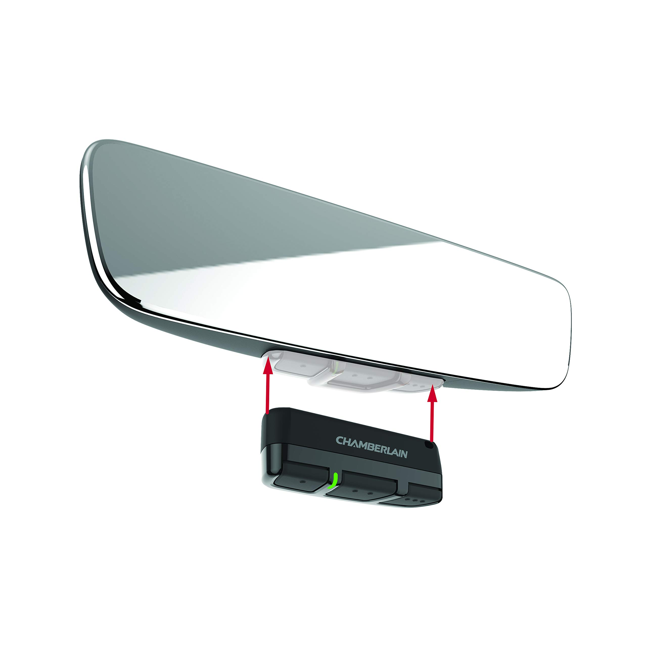 Brandmotion 1110-2520 Frameless Manual Dim Rear View Mirror with Universal Remote Control by Brandmotion (Image #2)