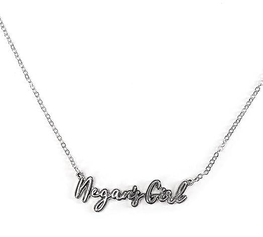 Amazon the walking dead negans girl pendant necklace jewelry the walking dead negans girl pendant necklace aloadofball Image collections