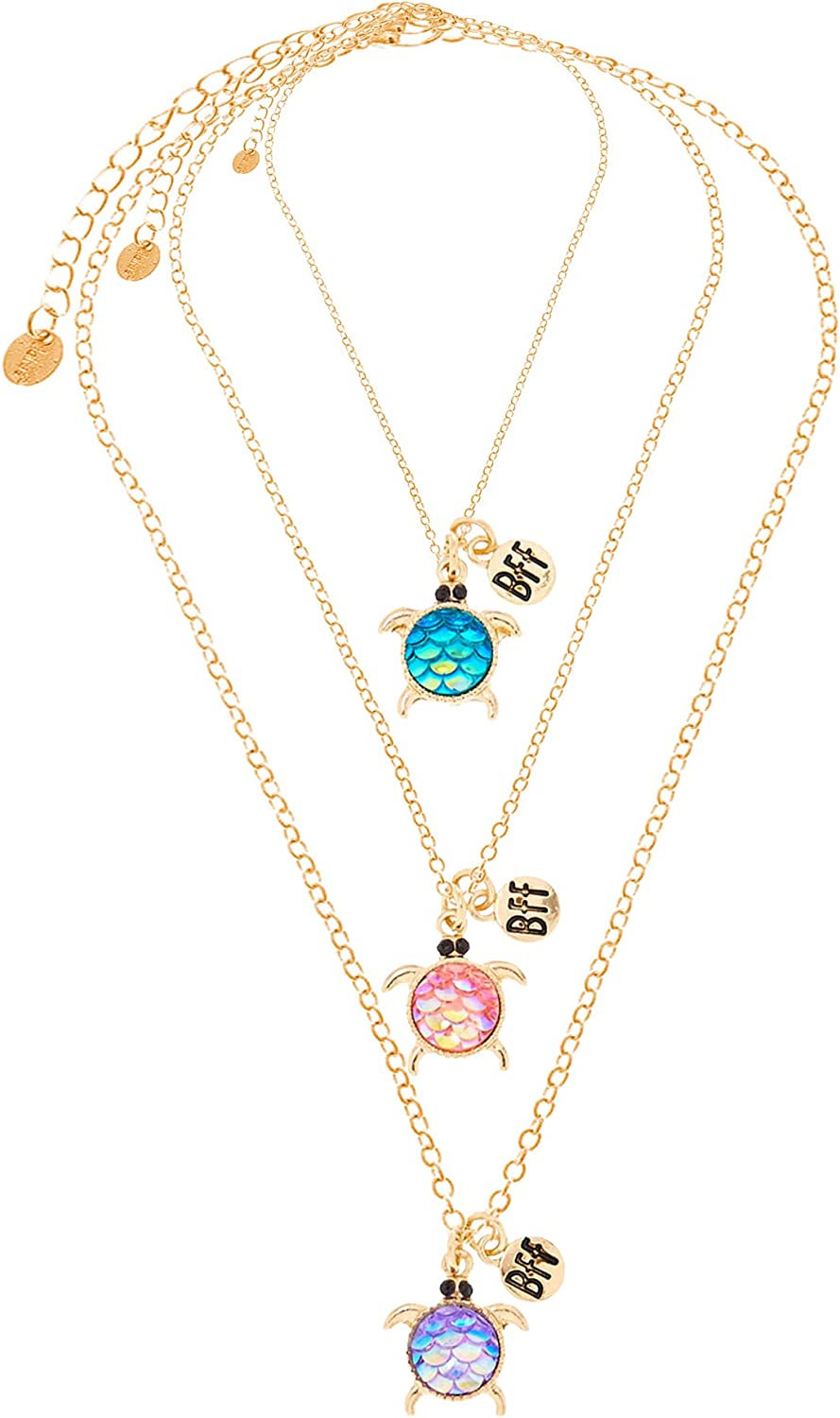 Claire's Matching Pendant Best Friends Necklaces, Assorted Styles, 16 Inches Long