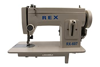 Rex Portable Walking-Foot Sewing Machine