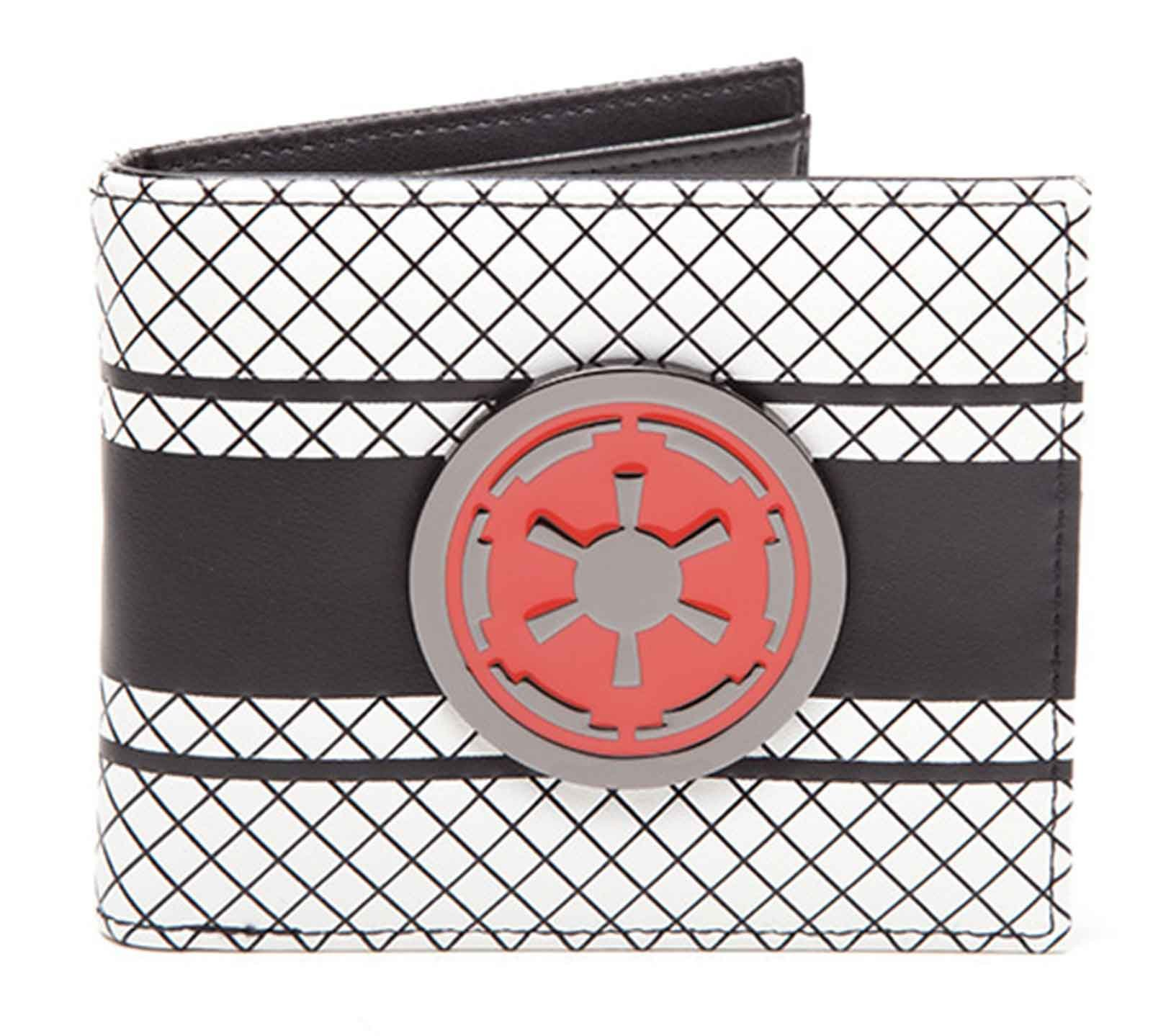 Star Wars Wallet Galactic Empire Logo Crest Official Bifold by Star Wars Merch