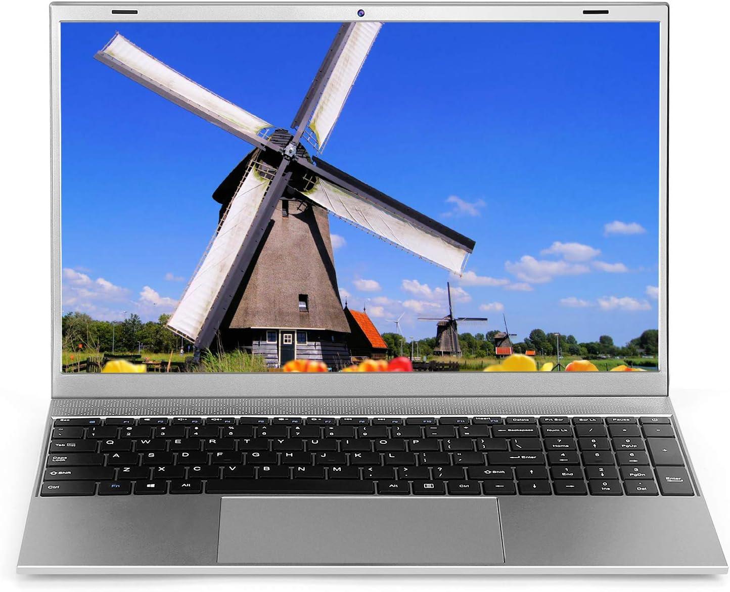 Laptop 15.6 inch Windows 10 Notebook 8GB RAM 128GB SSD - YELLYOUTH 15.6