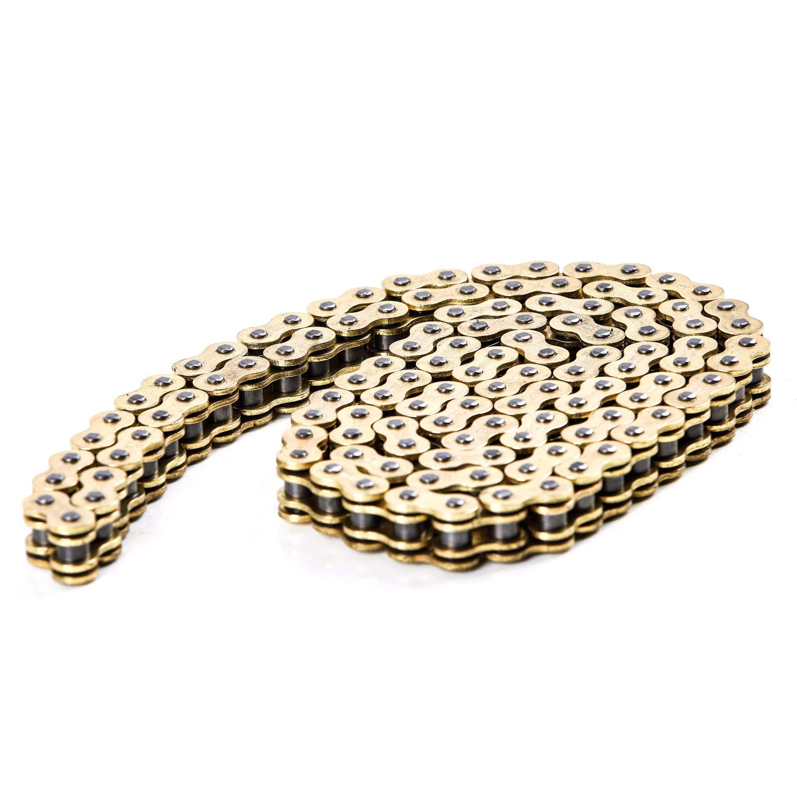 JCMOTO D.I.D 520 O Ring Chain 120 Link For Yamaha YZ125 YZ250 YZ250F YZ450F WR450F Gold