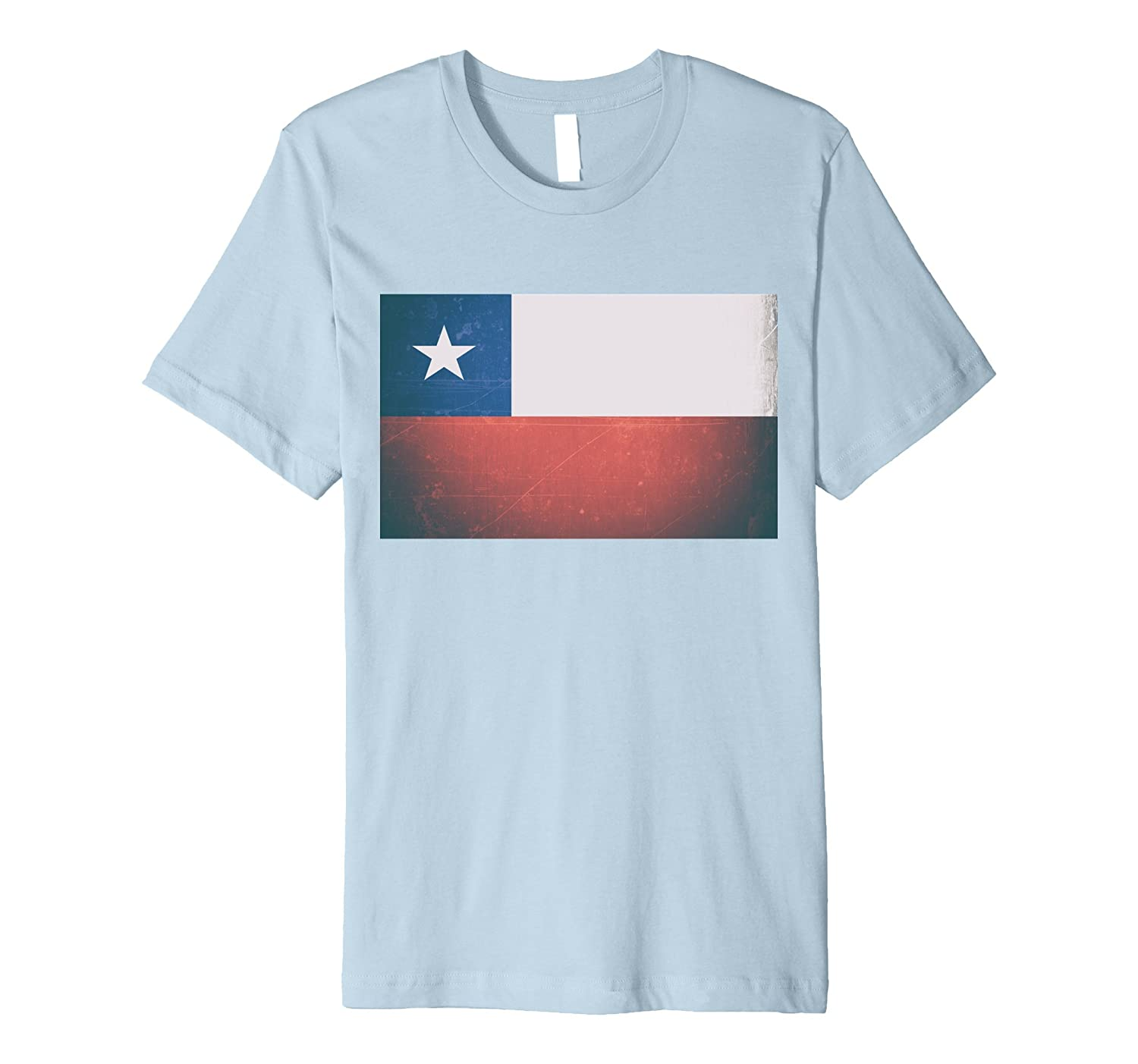 Chile Flag Shirt – New Deluxe Slim-fit Chilean Vignette Tee