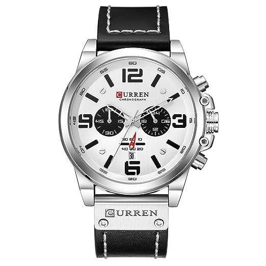 b21903d5afe6 CURREN Reloj de Pulsera para Hombre