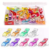 Multipurpose Sewing Clips 30 Pcs Premium Quilting Clips Assorted Colors Fabric Clips for Sewing Supplies Quilting…