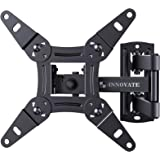 Full Motion TV Wall Mount Articulating Bracket for 13-42 Inch LED LCD OLED Flat Curved Screens, Swivel Tilt Extension Rotatio