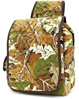 Belvah Quilted Mossy Oak Camouflage Pattern Backpack