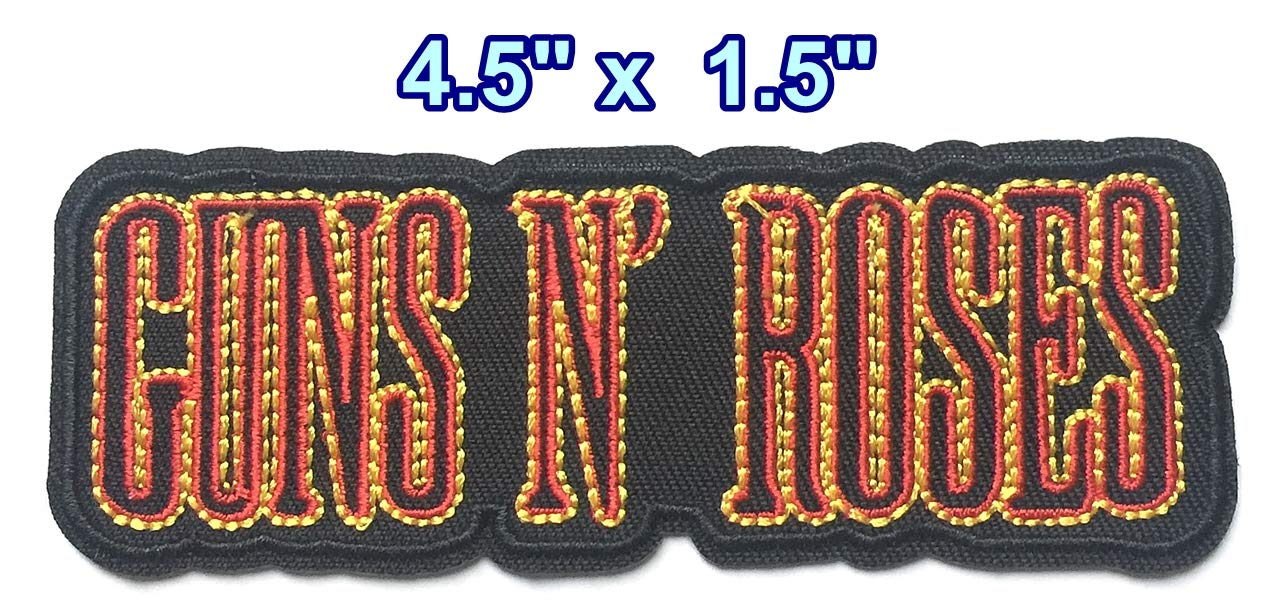 Iron on Patches#34, Rock Patches Set, Embroidered Patches, Iron on Patches, Sew on Patch, DIY Badge Patches Clothing Backpacks Jeans T-Shirt Caps Cute Patch by BossBee
