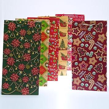 Amazon.com: Extra Tall Surtido bolsas de regalo de día ...