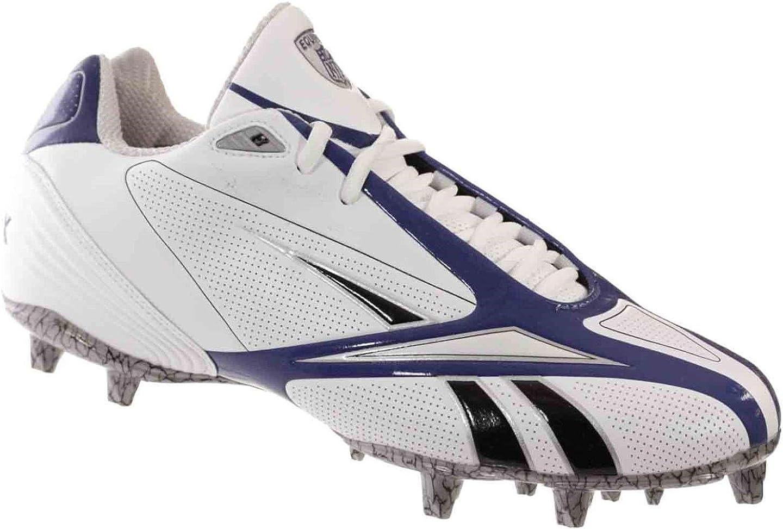 Reebok Pro Burner SPD III Low M3 Mens Football Shoes White Royal Black 12.5 M