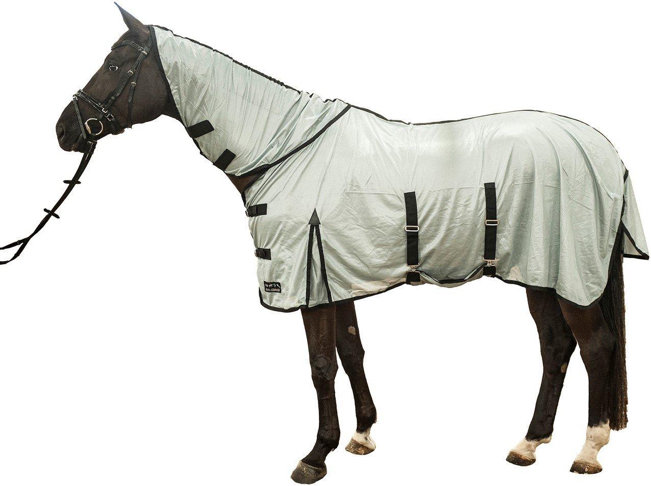 HKM–Manta antimoscas–Lyon–con cuello, plata