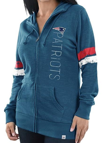 cheaper 69f2c a0c0e Amazon.com : New England Patriots Women's Majestic NFL ...