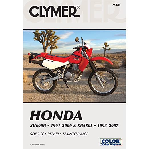 amazon com 93 18 honda xr650l clymer service manual automotive rh amazon com