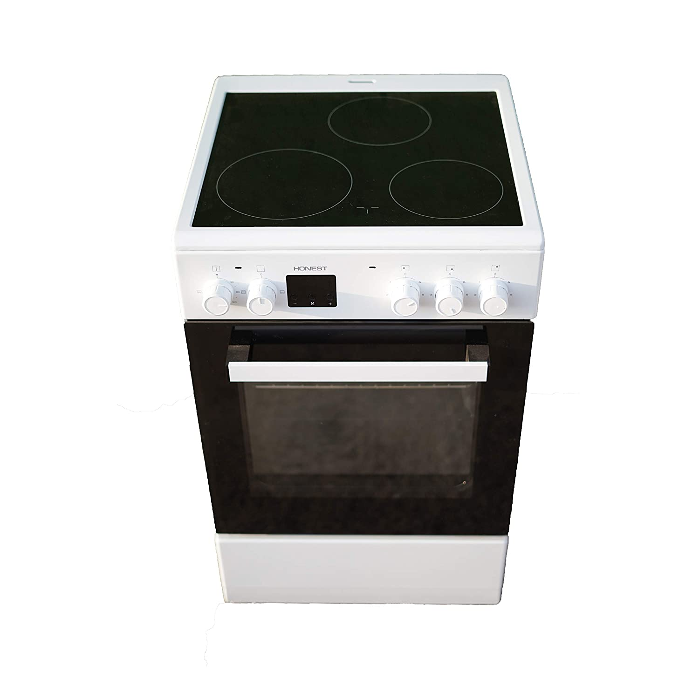 Cocina vitroceramica con horno