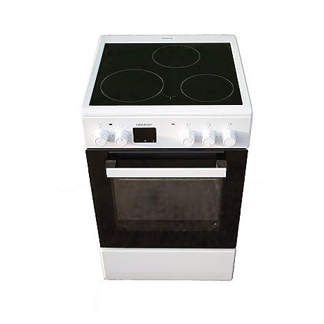 Cocina Vitroceramica HVG 3 fuegos mas horno electrico: Amazon.es ...
