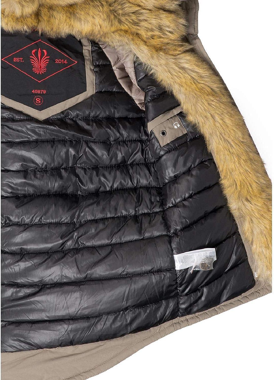 Navahoo Sweety Cappotto Invernale Parka Invernale Foderata da Donna 2in1 9 Colori XS-XXL