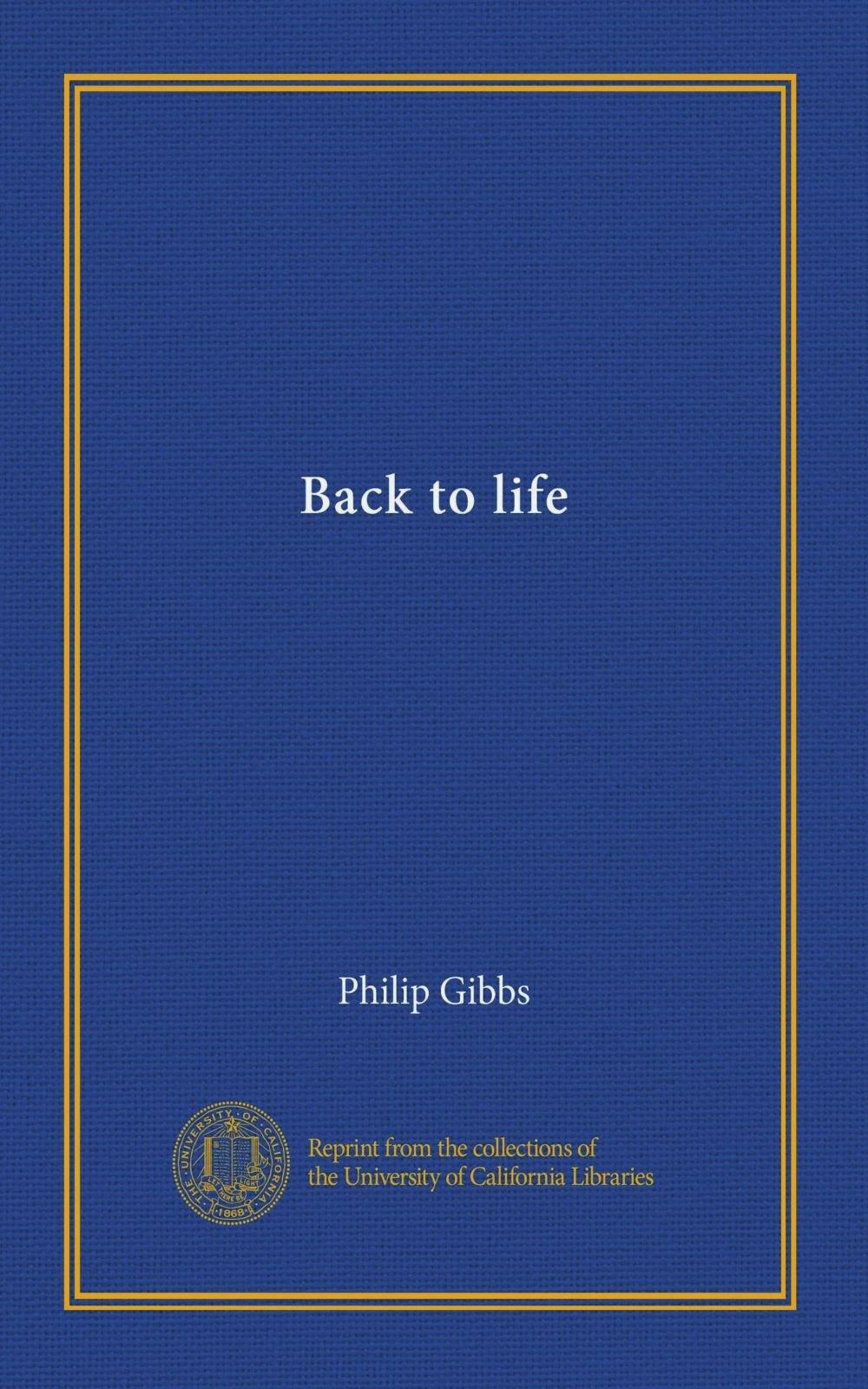 Download Back to life PDF
