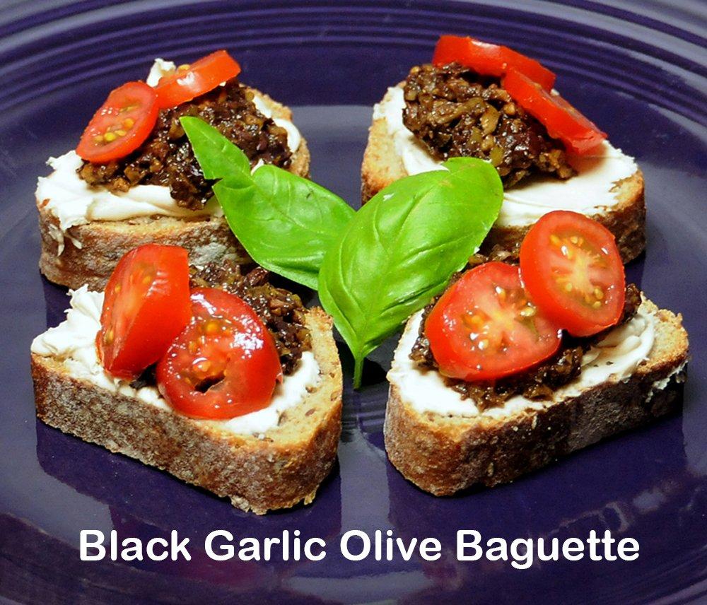 Organic Black Garlic Paste - TWELVE 6 oz. JARS