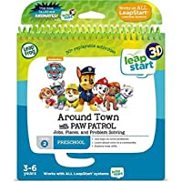 LeapFrog 80-460203 Level 2 LeapStart Book - Around Town with Paw Patrol - 3D Enhanced Book