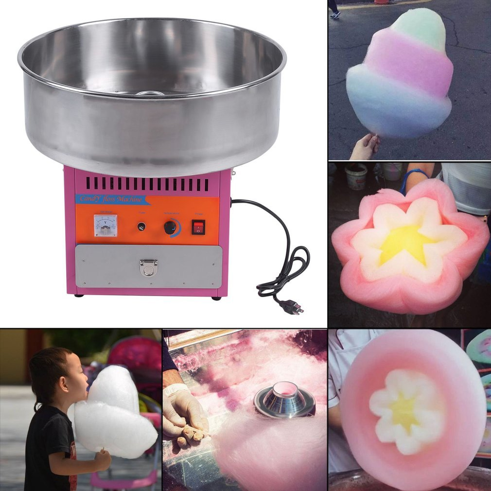 Full Automatical Commercial Cotton Candy Maker Machine Electric Cotton Candy Floss Machine,For Gathering Parties,Metal by Youghalwell (Image #6)