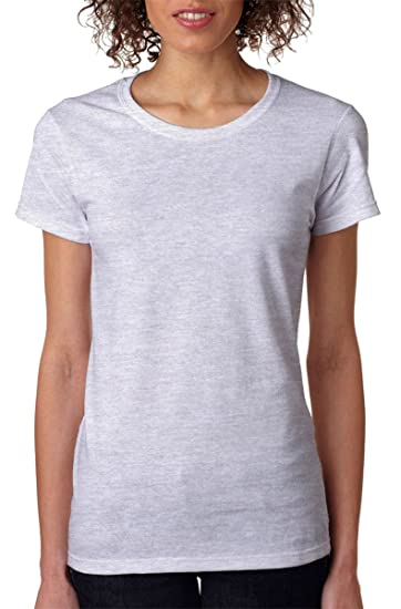 826d517e2d2 Image Unavailable. Image not available for. Color  Gildan - Heavy Cotton  Women s Short Sleeve T-Shirt ...