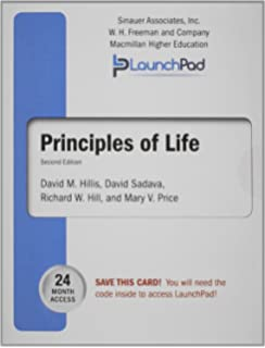 Principles of life 9781429257213 medicine health science books launchpad for hillis principles of life twenty four month access fandeluxe Images