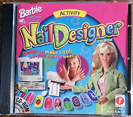 Amazon Mattel Barbie Nail Designer Activity Software For Girls