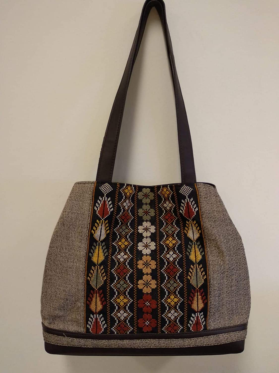 Amazon.com: Hand-made Tote Bag for women made by traditional ...