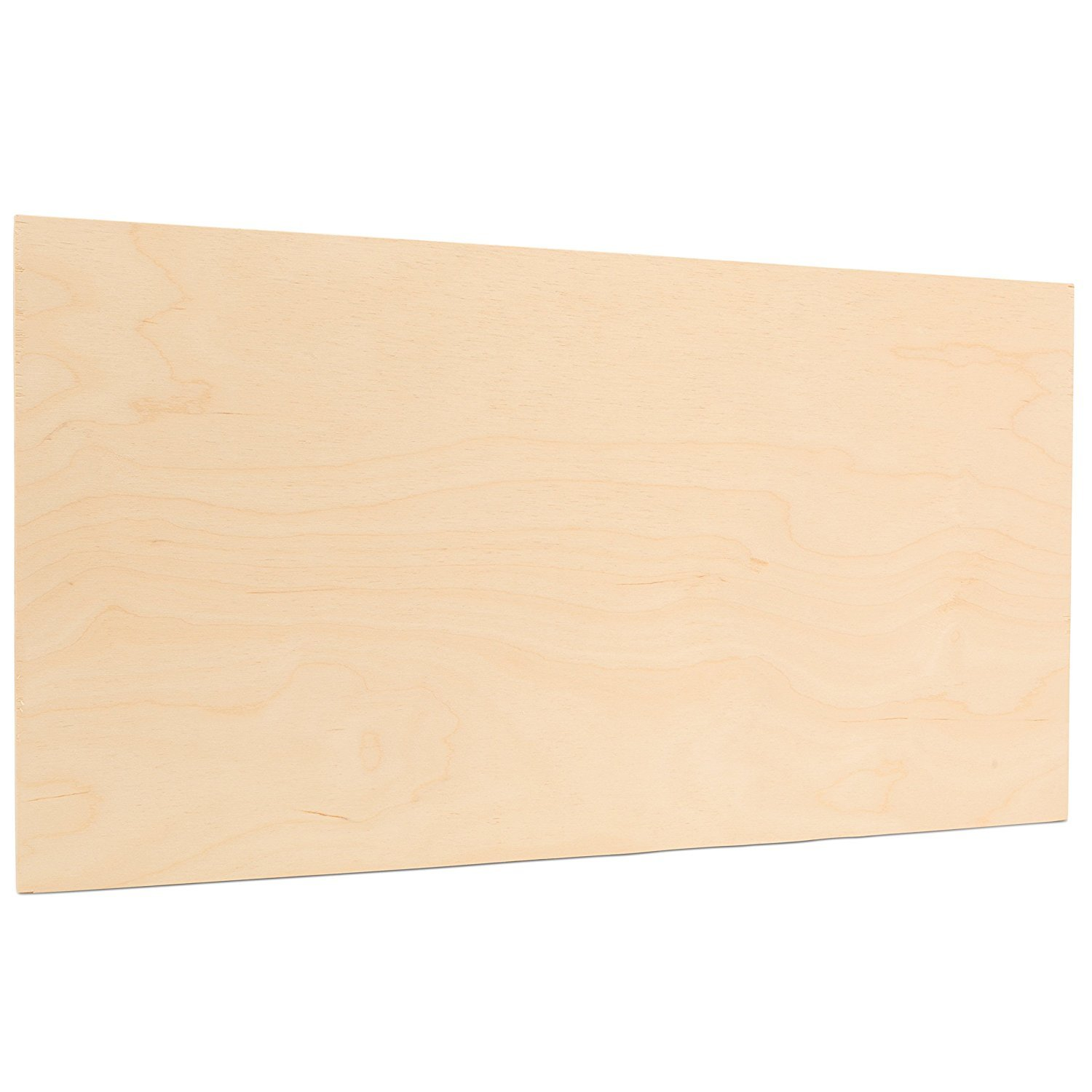 3 mm 1/8 x 18 x 24 Inch Premium Baltic Birch Plywood, Box of 8 B/BB Birch Veneer Sheets, Perfect for Laser CNC Cutting and Wood Burning Projects by Woodpeckers