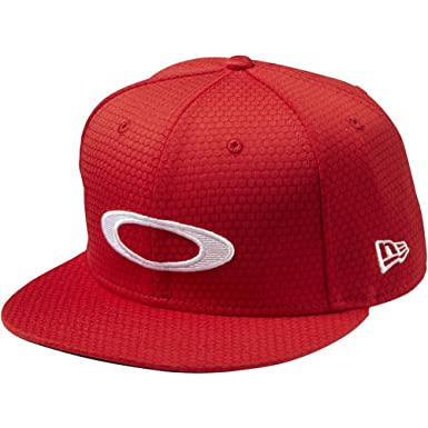 d59d98dc735018 ... new style oakley mens honeycomb 2.0 new era 9fifty adjustable snapback  golf hat cap red line