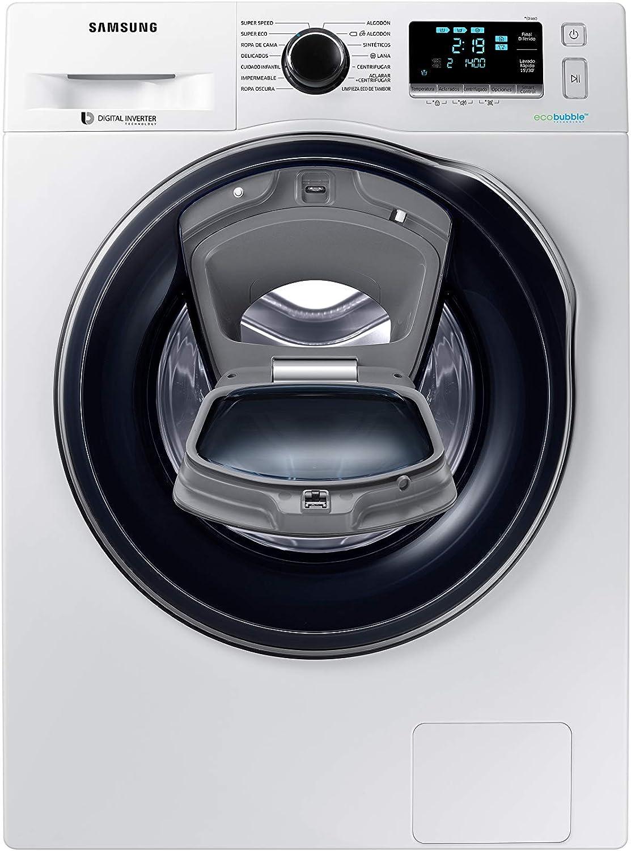 Samsung - Lavadora Addwash™ Serie 6 8kg WW80K6414QX, A+++, Carga Frontal, Inox, LED